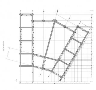 Проект дома из клееного бруса кпс13 кв